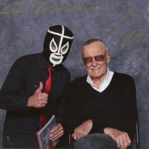 Mr Garcin et Stan Lee