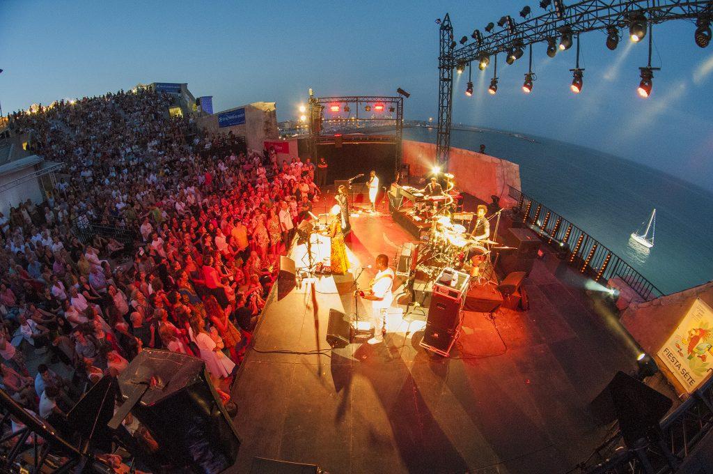 théâtre de la Mer lieu des festivals à Sète