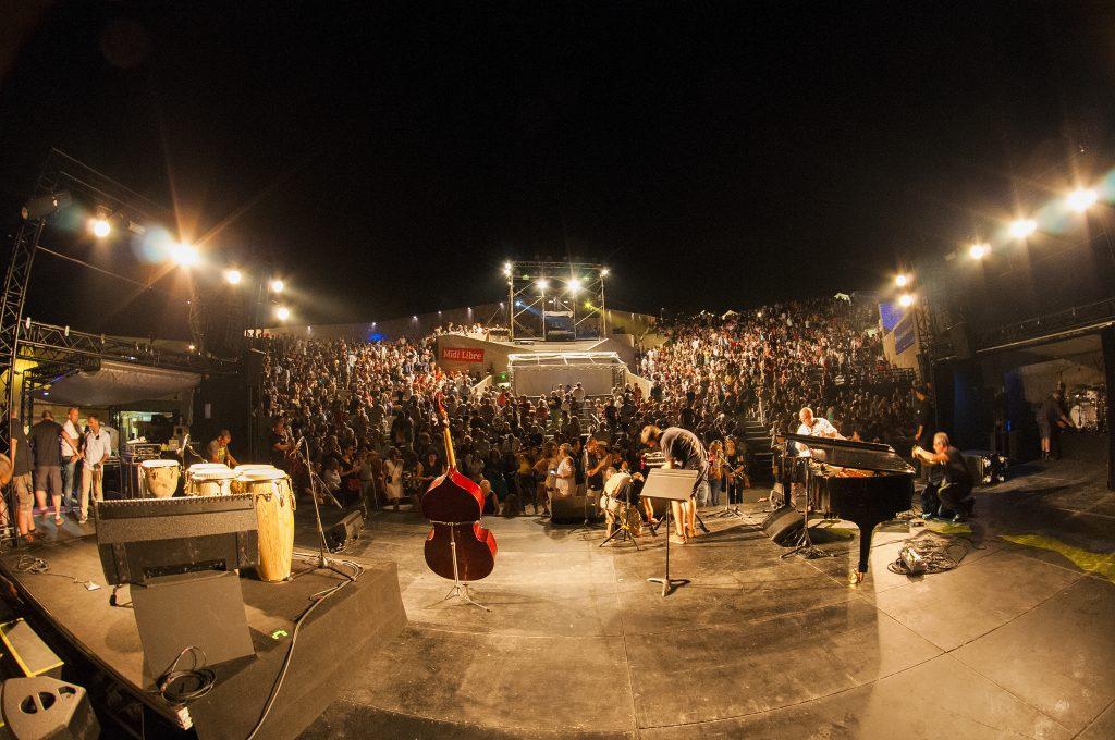 Theatre de la Mer, lieu magique des festivals à Sète