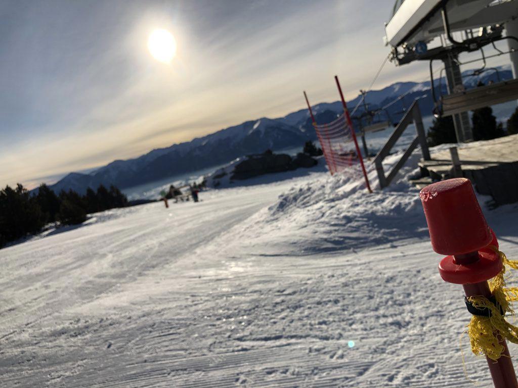 Pyrénées : Pendant qu'il neige abondamment, le climat se réchauffe