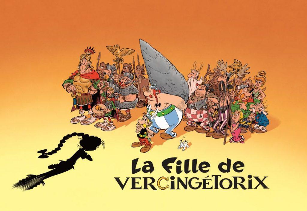 Bande Dessinée Une Fille En Vedette Du Prochain Asterix
