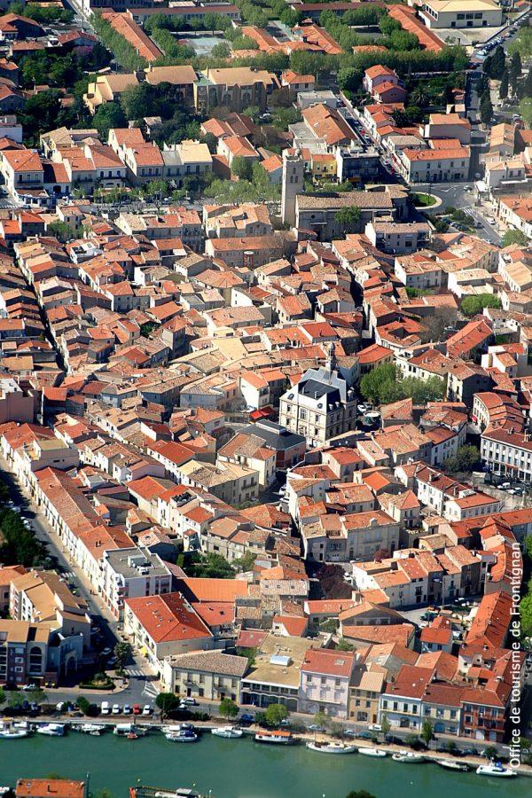 Frontignan projet centre-ville