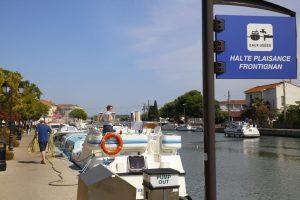 Halte plaisance en centre-ville de Frontignan