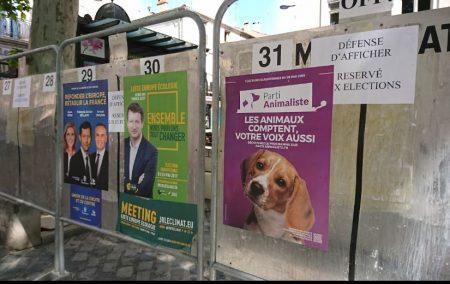 34 listes aux élections européenes