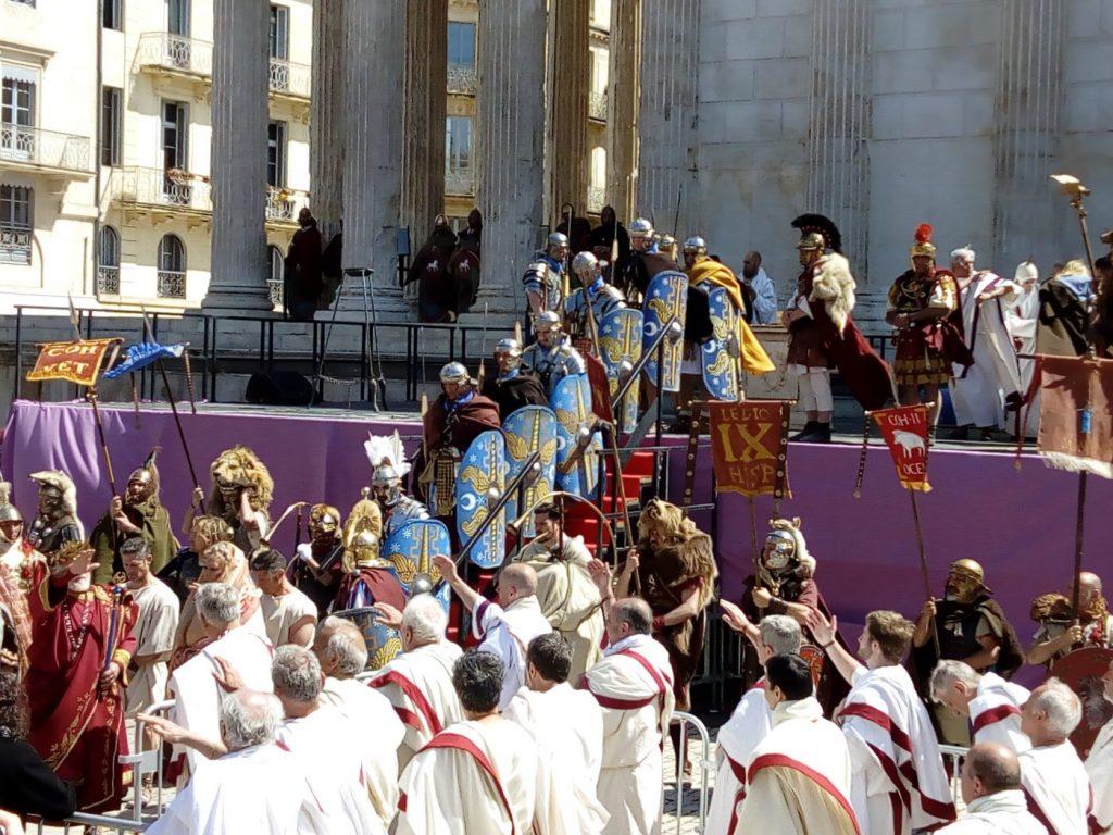 Grands jeux romains à Nîmes