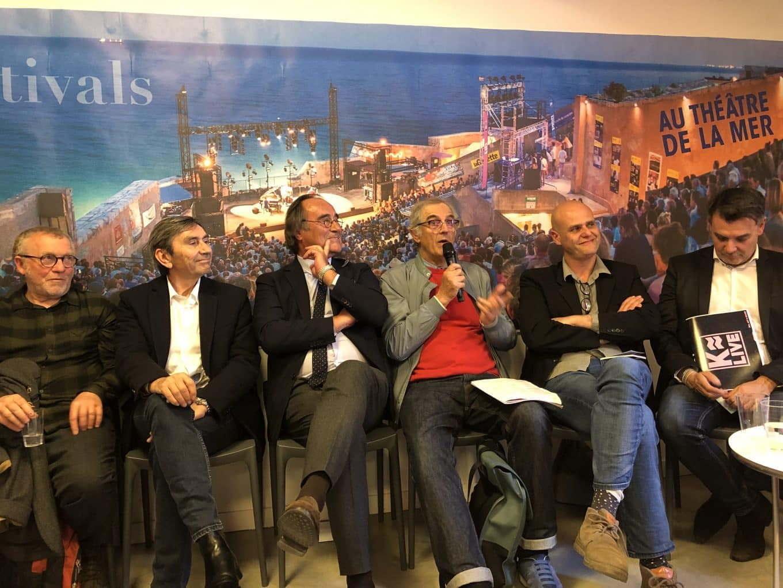 Théâtre de la Mer, les directeurs des festivals réunis pour présenter les programmes