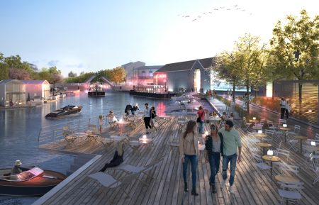 Projet urbain et Port fluvial à Frontignan