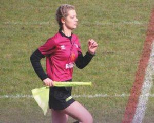 Lucie Peyré, arbitre de rugby à XIII