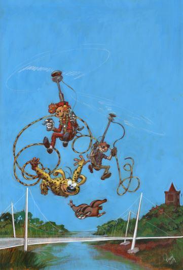 L'illustration de l'affiche du 24e Festival BD de Sérignan, signée Yoann...