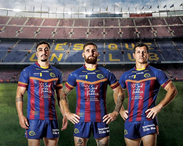 rugby à XIII les Dragons catalans