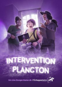 escape game Intervention Plancton