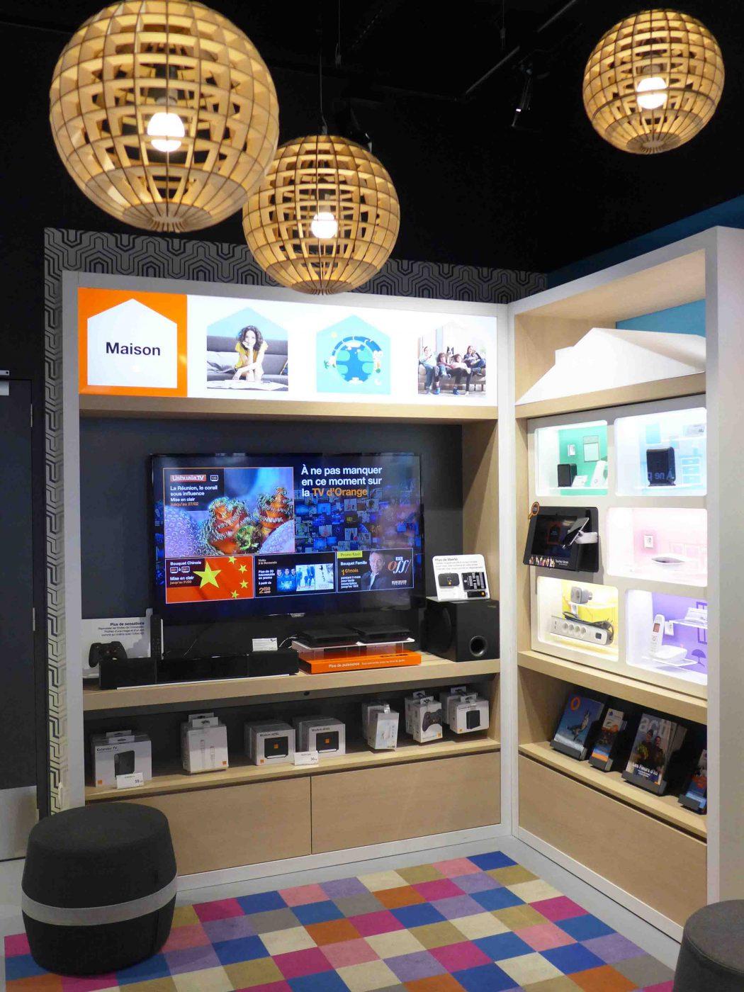 Le nouveau concept de boutique smartstore d'Orange