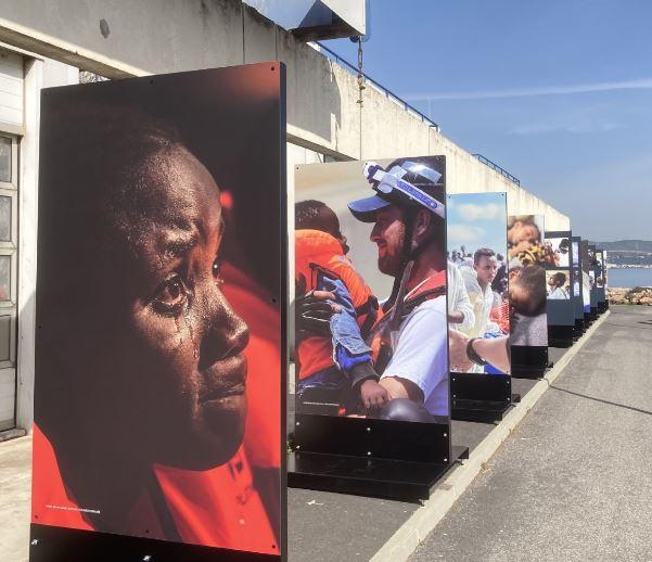 SOS Méditerranée : Une exposition-événement qui va sillonner l'Occitanie