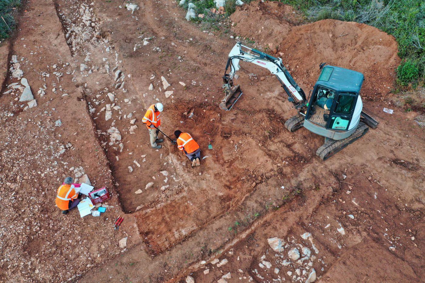 """Voie Domitienne : Un tronçon de """"l'autoroute romaine"""" retrouvé à Loupian !"""